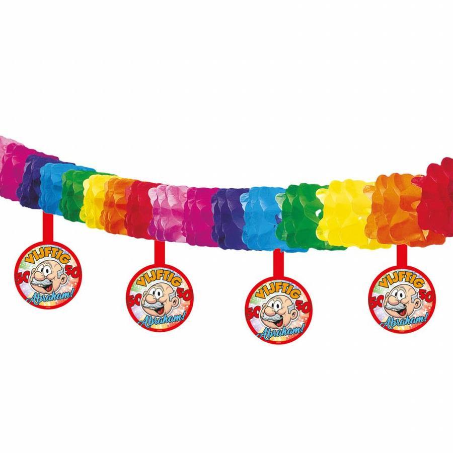 Abraham Rainbow slinger met onderhanger-1