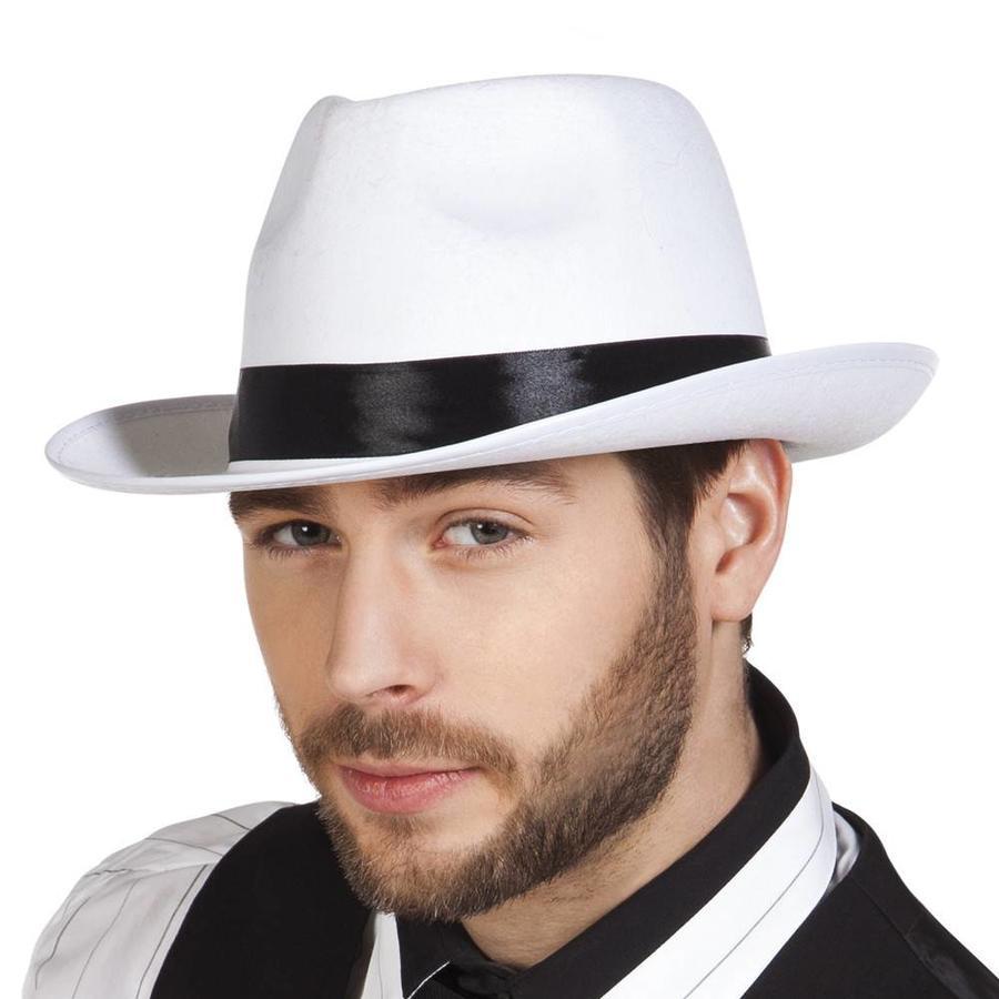 Al Capone Hoed Mafia - Wit-1