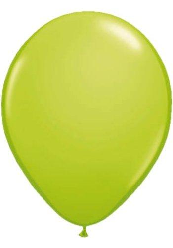 Metallic Lime Groen - 30cm - 10 stuks