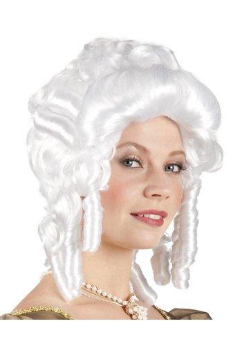 Pruik Baroque Dame