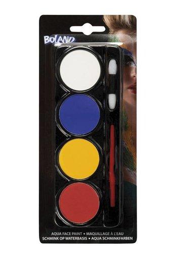 Schmink Palette - 4 Kleurtjes