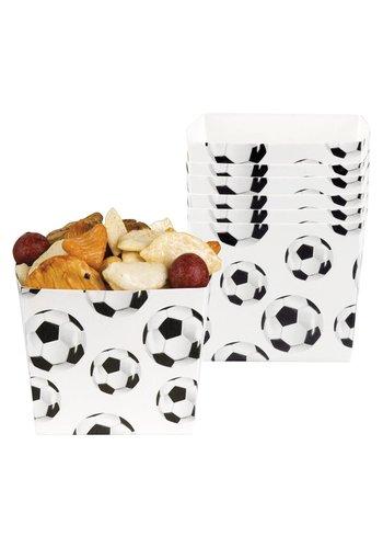 Voetbal Chips Bakjes - 6 stuks