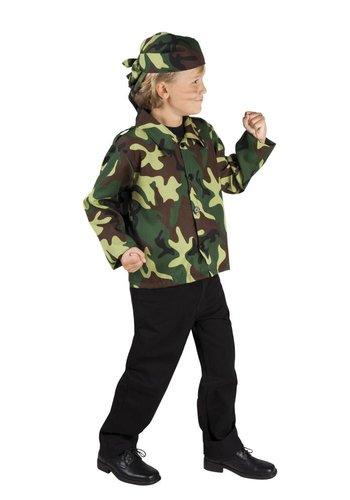 Leger Camouflage set - 2 Delig