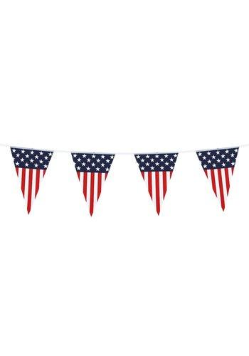 USA Party Vlaggenlijn - 6 meter