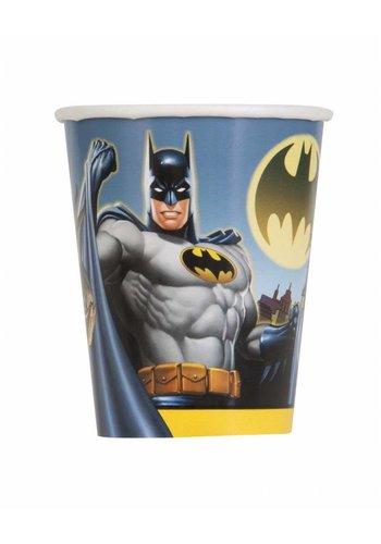 Batman bekertjes 250ml - 8 stuks