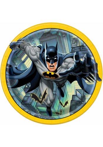 Batman bordjes 23cm - 8 stuks