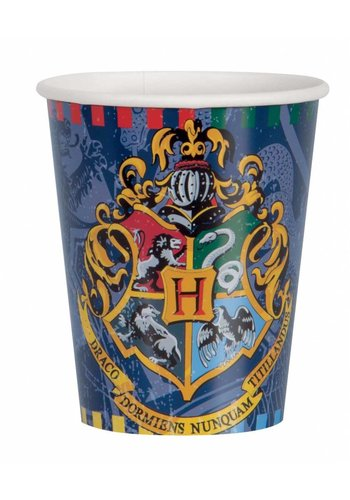 Harry Potter bekertjes 250ml - 8 stuks