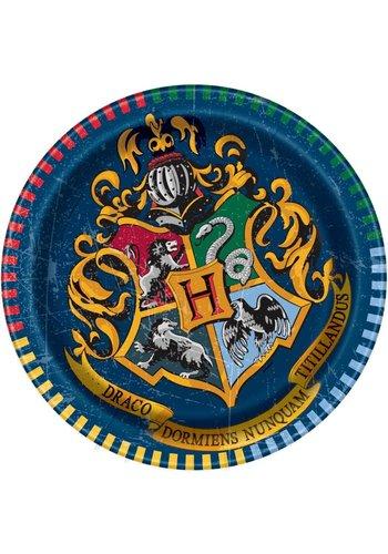 Harry Potter bordjes 18cm - 8 stuks