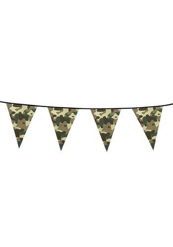 Vlaggenlijn Camouflage - 6 meter