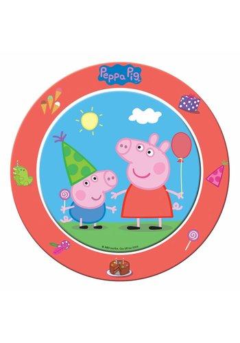 Peppa Pig bordjes 23cm - 8 stuks