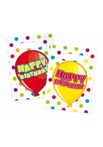 Balloons uitdeelzakjes - 6 stuks