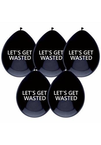 Let's get wasted ballonnen - 6 stuks