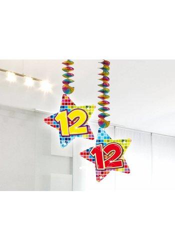 Blocks hangdeco 12 - 2 stuks