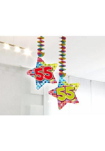 Blocks hangdeco 55 - 2 stuks