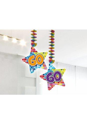 Blocks hangdeco 60 - 2 stuks