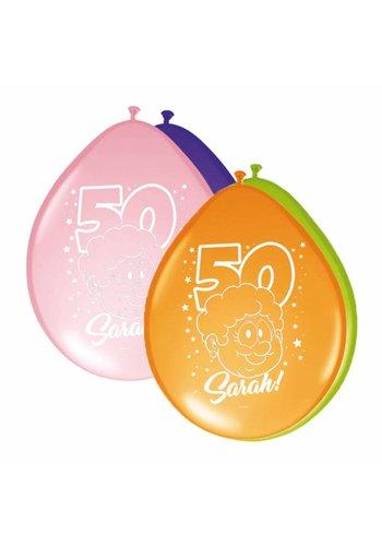 Sarah Rainbow ballonnen - 8 stuks