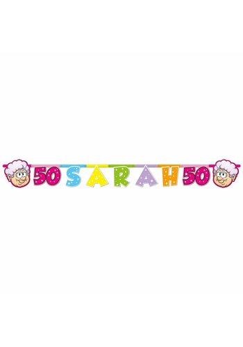 Sarah Rainbow letterbanner