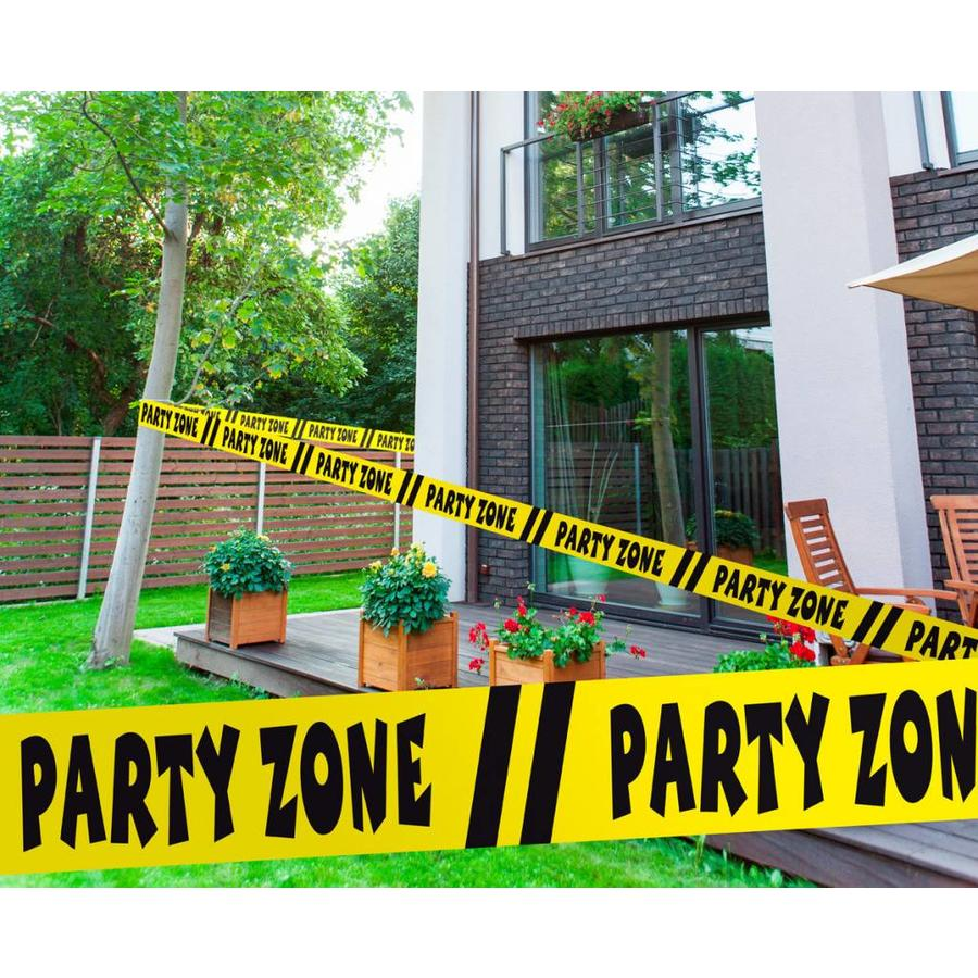 Afzet lint Party zone - 15 meter-2