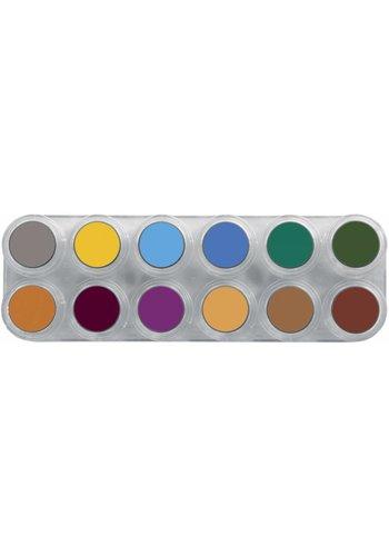 Palette B Water Make-up - 12 kleuren