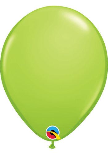 """5"""" Lime Groen - 13cm - 100 stuks"""