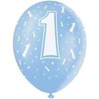 thumb-Ballonnen 1 - 30cm - 5 stuks-1