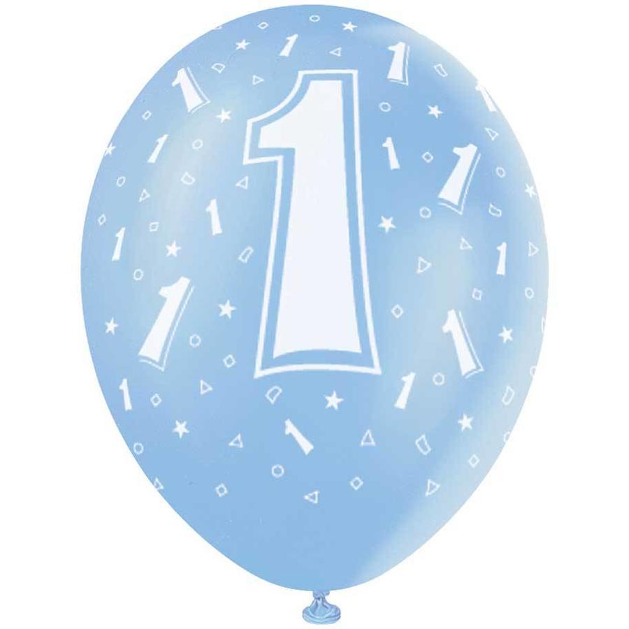 Ballonnen 1 - 30cm - 5 stuks-1