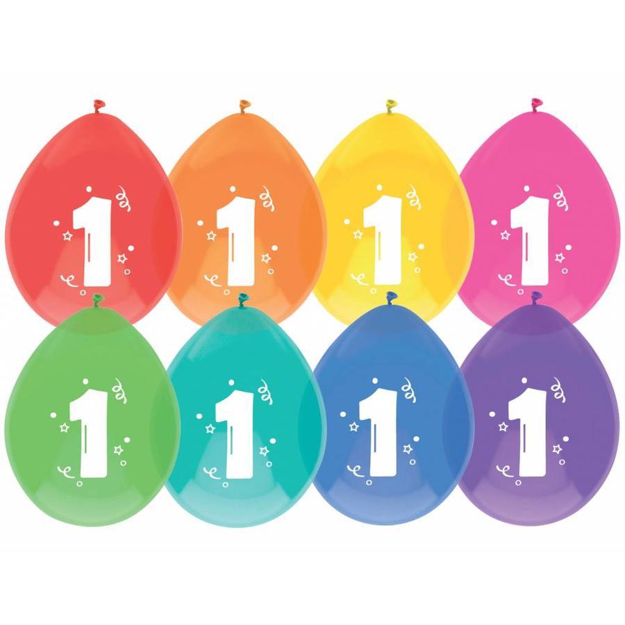 Ballonnen 1 - 30cm - 8 stuks-1