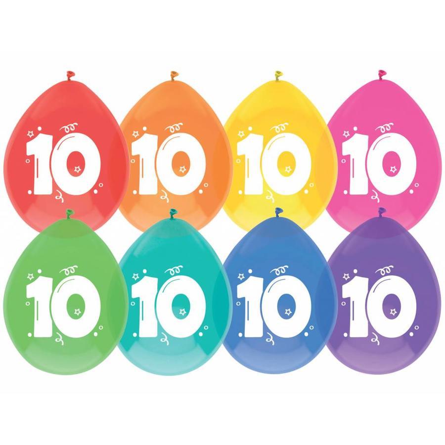 Ballonnen 10 - 30cm - 8 stuks-1