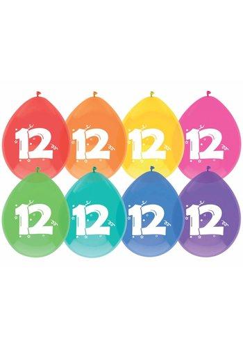 Ballonnen 12 - 30cm - 8 stuks