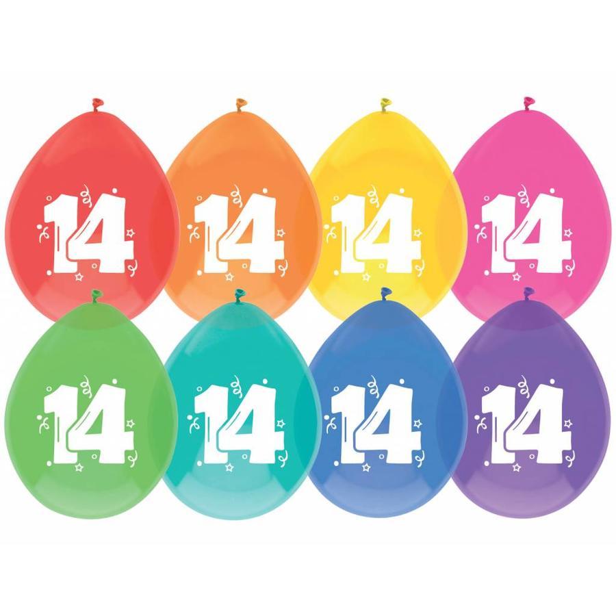 Ballonnen 14 - 30cm - 8 stuks-1