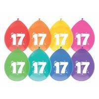 Ballonnen 17 - 30cm - 8 stuks