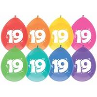 Ballonnen 19 - 30cm - 8 stuks
