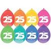 Ballonnen 25 - 30cm - 8 stuks