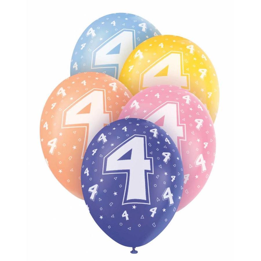 Ballonnen 4 - 30cm - 5 stuks-1