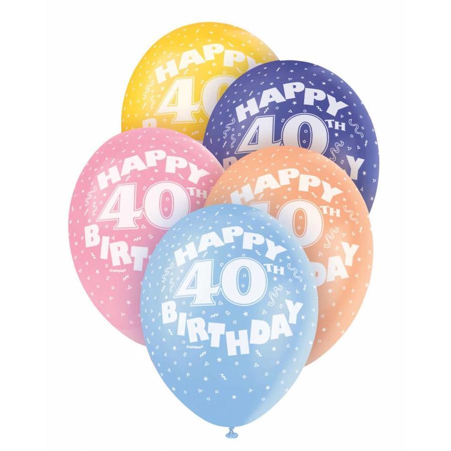 Ballonnen 40 - 30cm - 5 stuks-1