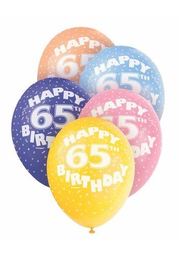 Ballonnen 65 - 30cm - 5 stuks