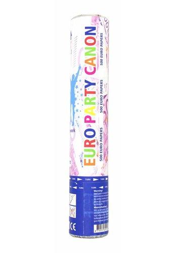 Confetti Kanon Euro's - 28 cm