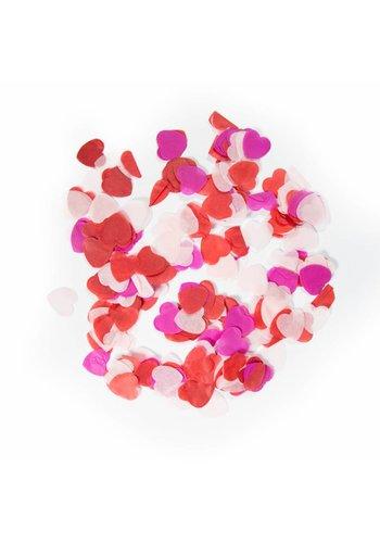 Confetti XL Hart love mix 25mm - 14 gram