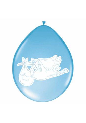 Baby Boy Ballonnen 30cm - 8 stuks