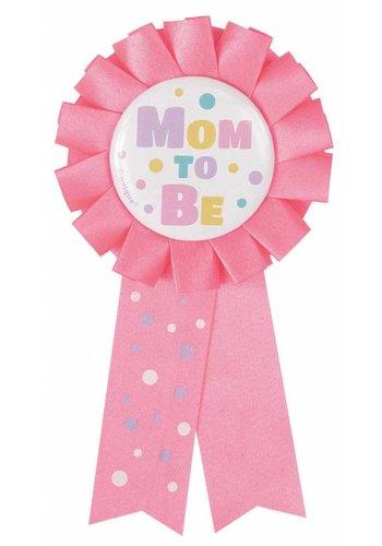 Rozet Mom to Be - Licht Roze