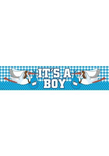 It's a Boy banner - 160x19cm