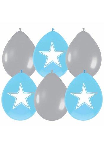 Little star ballonnen - 6 stuks
