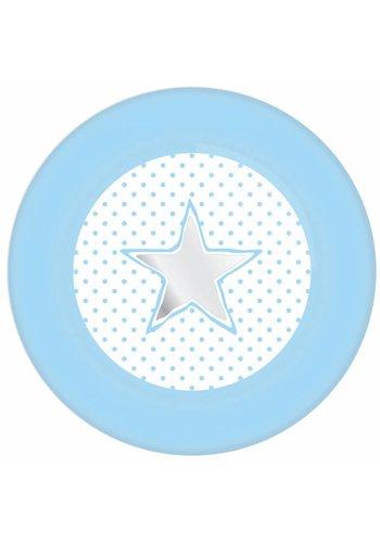 Little star bordjes 18cm - 8 stuks