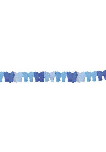 Slinger Voetjes blauw - 6 meter