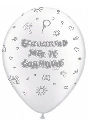 Communie Ballonnen - 8 stuks
