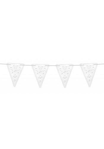 Communie Vlaggenlijn Pearl - 4 meter