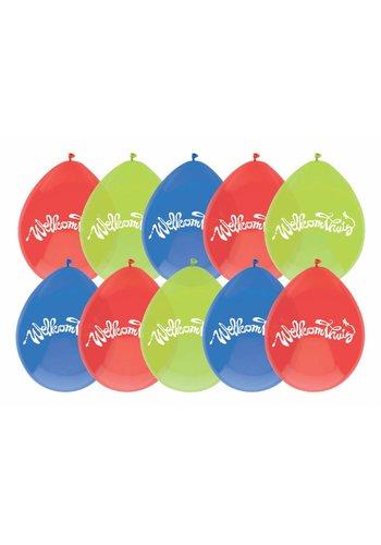 Welkom Thuis ballonnen - 10 stuks