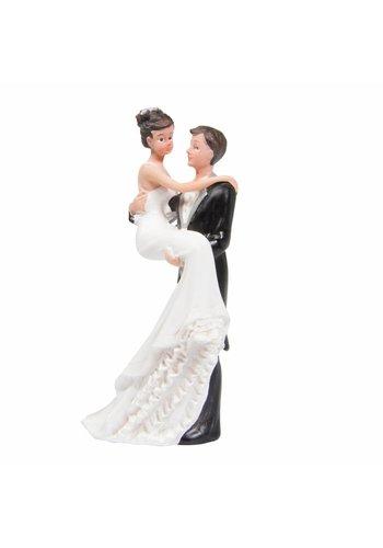 Bruidspaar Romantiek - 10cm
