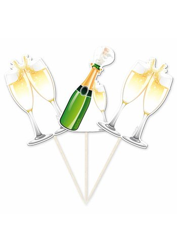 Prikkertjes Champagne - 10 stuks