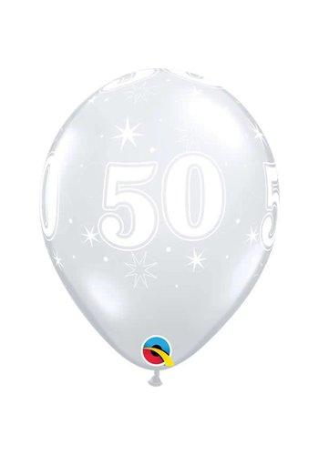 """11"""" Doorzichtig 50 jaar (28cm)"""